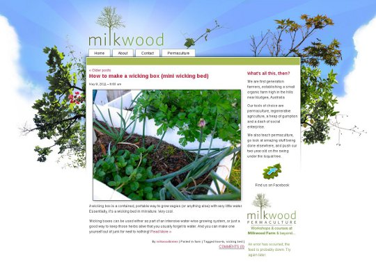 milkwood website